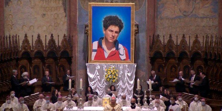 Misa de beatificación de Carlo Acutis / Vatican News