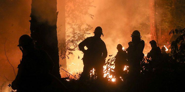 incendios forestales y las aguas