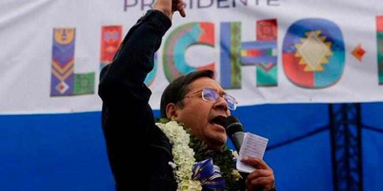 Luis Arce, candidato presidencial en Bolivia / REUTERS