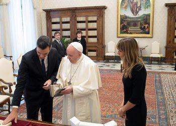 Papa Francisco Pedro Sánchez
