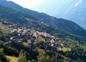 Vista de Albinen, Suiza / Wikipedia imágenes