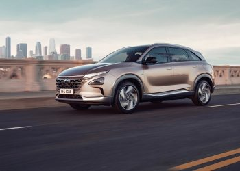 El hyundai NEXO es el modelo de la marca que funciona a base de hidrógeno / Hyundai