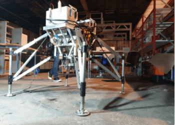 Vehículo de tecnología de demostración. Foto: Agencia Espacial Europea (ESA).