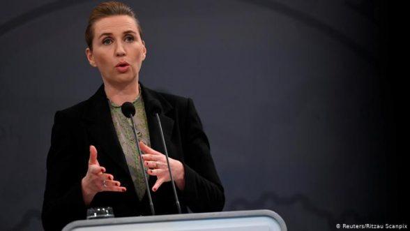 Primer ministra de Dinamarca, Mette Frederiksen  / REUTERS