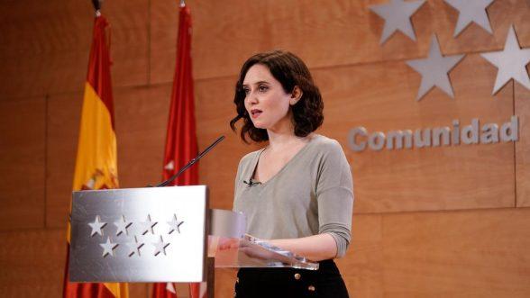 Isabel Díaz Ayuso, presidenta de la Comunidad de Madrid / Comunidad de Madrid
