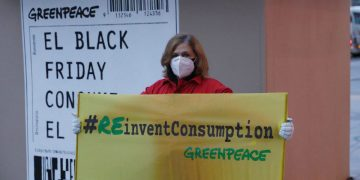 greenpeace black friday