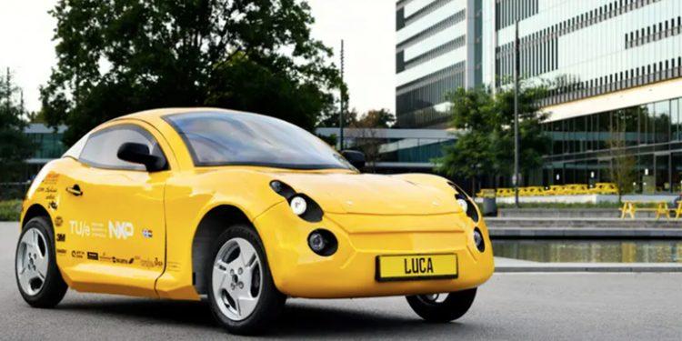 """""""Luca"""", el coche eléctrico hecho con materiales reciclados que creó un grupo de estudiantes en Holanda / Universidad de Eindhoven"""