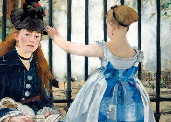 El Ferrocarril, 1873, Manet. National Gallery of Art, Washington.