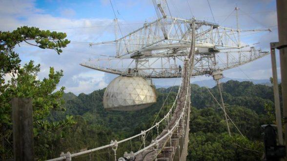 El telescopio de Arecibo fue una referencia por lo que se logró con su uso / Fundación Nacional de Ciencia