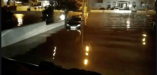Las borrascas Elsa y Fabien ocasionaron grandes inundaciones / REUTERS