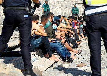 El drama de los inmigrantes