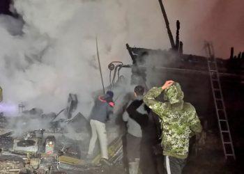 11 personas murieron por un incendio en una residencia de adultos mayores en Rusia / REUTERS