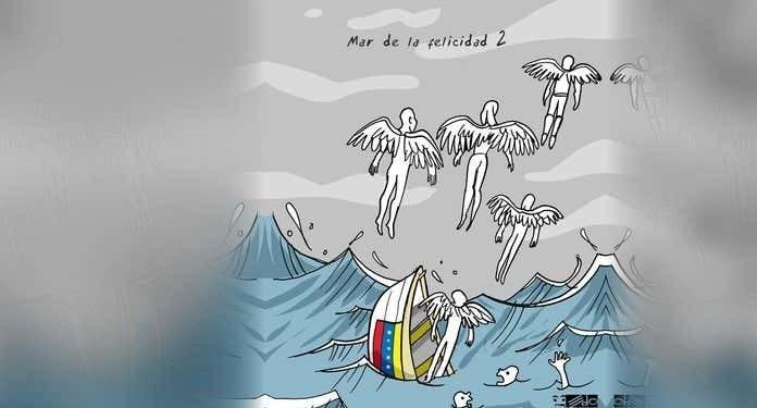 19 ahogados