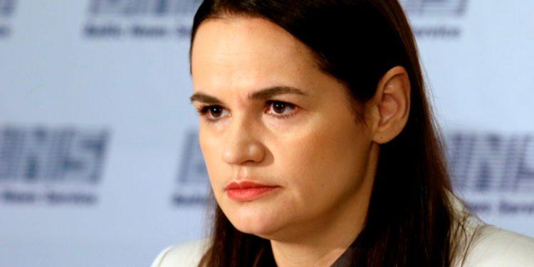 La líder opositora Svetlana Gueórguievna Tijanóvskaya busca apoyo internacional para reforzar la lucha de los ciudadanos en Bielorrusia que exigen la salida de Lukashenko / REUTERS
