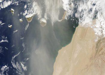 Tormenta de polvo en el Sáhara