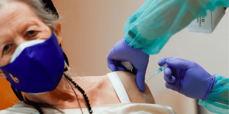 Vacunación contra el coronavirus en Madrid