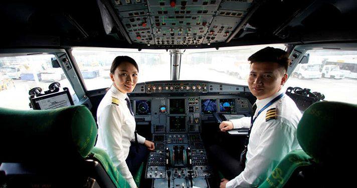 Mujeres pilotos