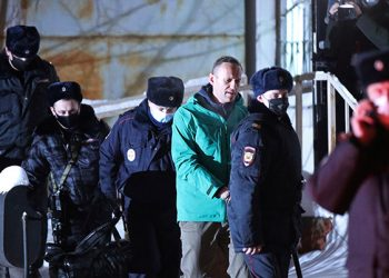 Arresto de Navalni