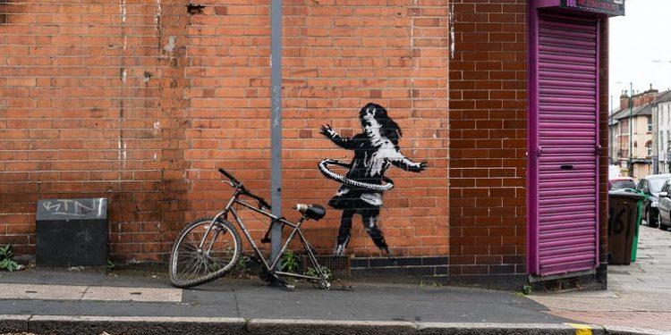 Hula (Banksy, 2020). Banksy.co.uk