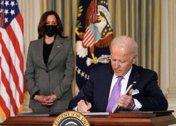 Administración de Biden en la Casa Blanca en Washington