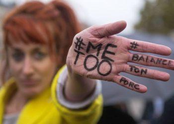 Protestas contra la violencia sexual en París 2018 . REUTERS