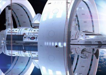 El motor de curvatura de Alcubierre, basado en la serie Star Trek