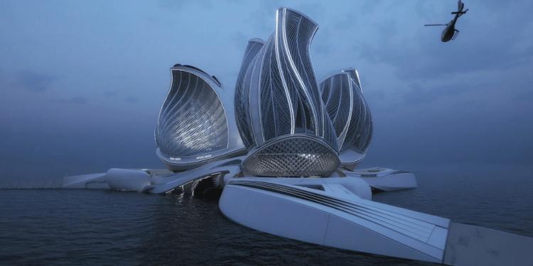 Lenka Petráková diseña estación flotante sostenible y gana el gran premio de innovación arquitectónica de la Fundación Jacques Rougerie