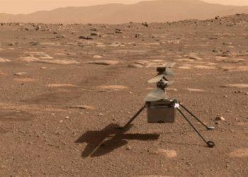 El helicóptero Ingenuity hace su segundo vuelo en Marte. NASA