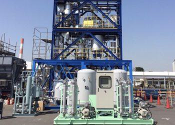Aguas residuales en hidrógeno