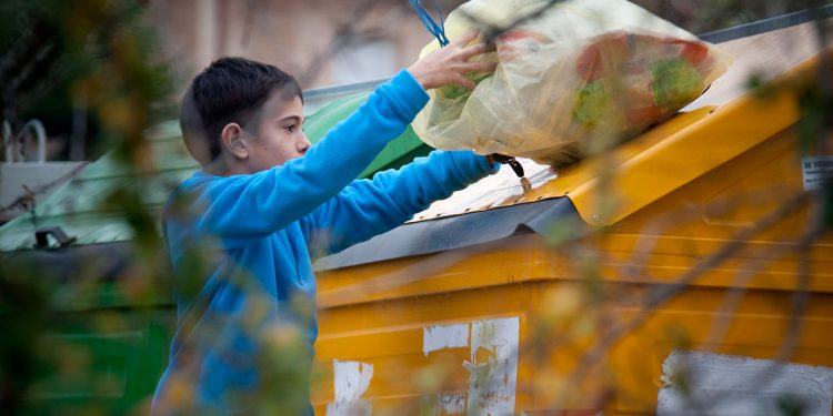 España recicla desechos
