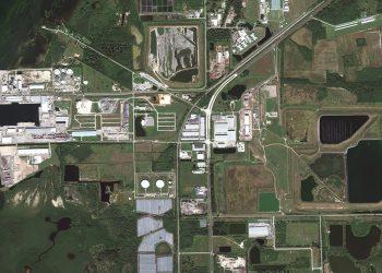 Florida derrame estanque