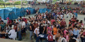 Apure familias desplazadas
