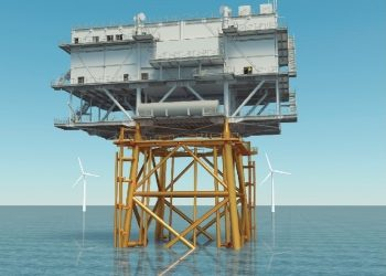 subestaciones flotantes para eólica