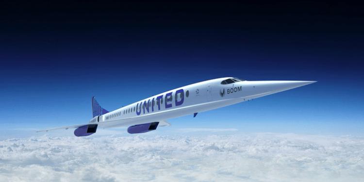 United Airlines comprará aviones supersónicos capaces de volar a 1,7 veces la velocidad del sonido