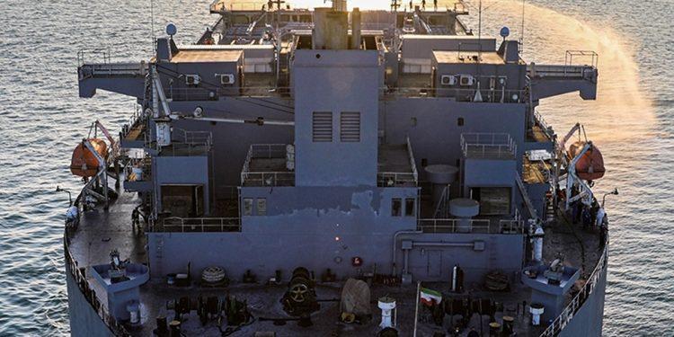 Pentágono barcos iraníes