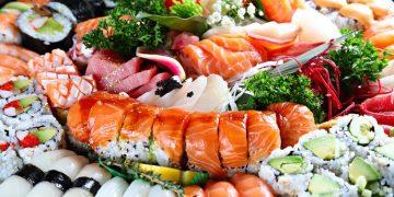 sushi alimento saludable