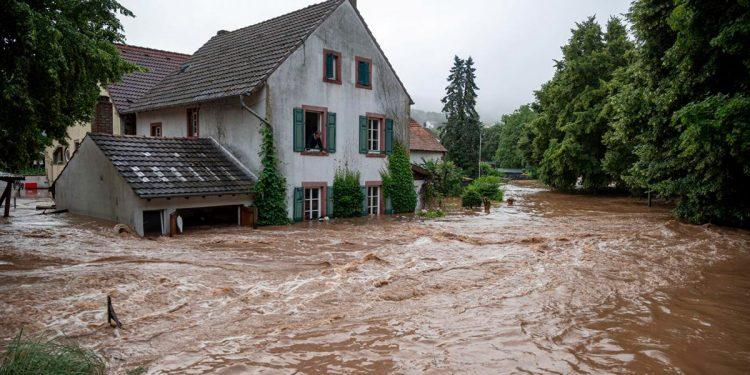torrenciales lluvias en Alemania