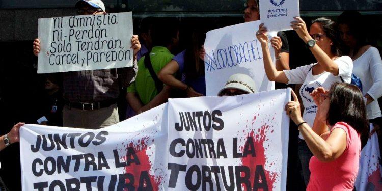 no cesan las torturas en Venezuela