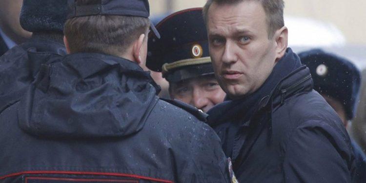 Navalny en prisión