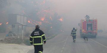 Turquía incendios