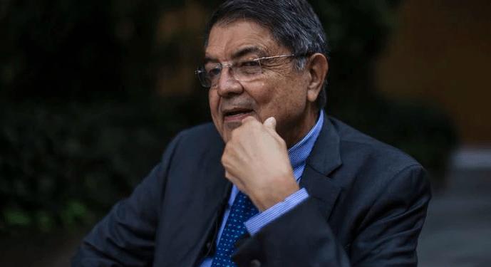 """El régimen de Nicaragua se lanza ahora contra el escritor y novelista Sergio Ramírez, quien fue acusado por """"incitar al odio""""."""