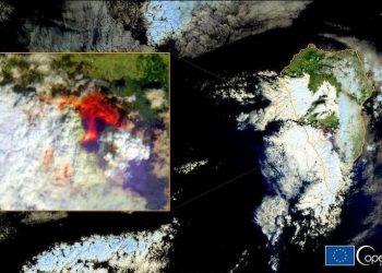 La erupción del volcán de La Palma ha liberado a la atmósfera grandes cantidades de dióxido de azufre (SO2), un gas sumamente tóxico