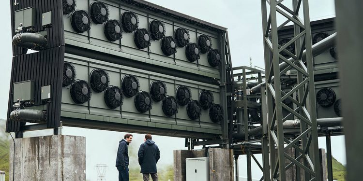 Islandia captura dióxido de carbono