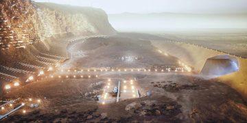 Nüwa ciudad en Marte