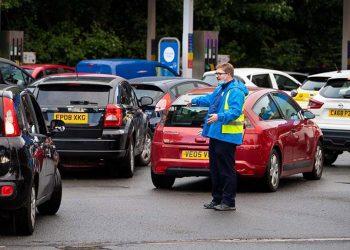 Reino Unido crisis de combustible
