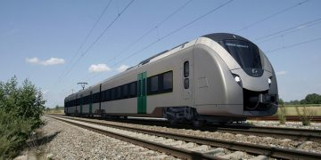 tren eléctrico con batería