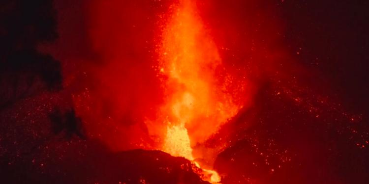 Actualmente la erupción del volcán de La Palma afecta a unas 400 hectáreas terrestres y 29,7 hectáreas de superficie marina.