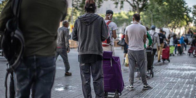 Españoles exclusión social